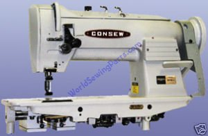 Consew Industrial Sewing Machine Double Needle 333RB-3